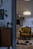 Foscarini Caboche Plus plafondlamp LED transparant
