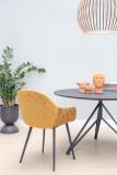 Livingstone Design Victoria eetkamerstoel met armleuning