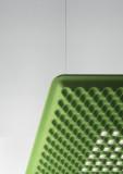Artemide Eggboard Matrix akoestische hanglamp LED 80x80