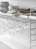 String Furniture Keukenkast hangend medium, grijs