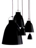 Lightyears Caravaggio Black hanglamp