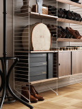 String Furniture Shelf plank 3-pack 58 x 20 cm