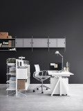 String Furniture Free Standing Shelf with Sound Absorbing Felt