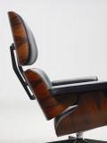Vitra Eames Lounge chair met Ottoman fauteuil (nieuwe afmetingen) Palisander