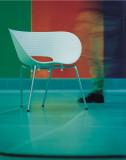Vitra Tom Vac stoel onderstel verchroomd