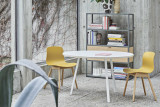 Hay Loop stand 200 wit eetkamerset +  6 AAC12 stoelen