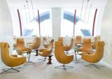 Vitra Repos loungestoel met Ottoman