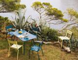 Fermob Luxembourg tuinset 143x80 tafel + tuinbank + 2 tuinstoelen