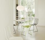 Arper Dizzie tafel H74 oval 108x90