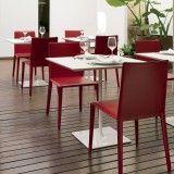 Arper Dizzie tafel H74 vierkant 80x80