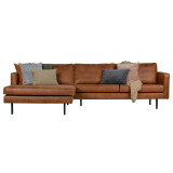 BePureHome Rodeo 3-zits met chaise longue links