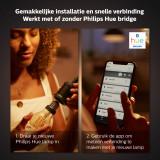 Philips Hue Philips Hue Filament G93 lichtbron E27 Bluetooth