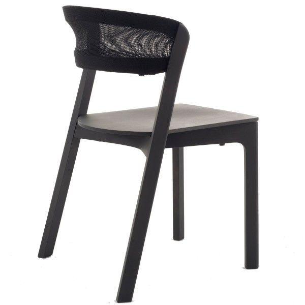 Arco Café Chair stoel zwart