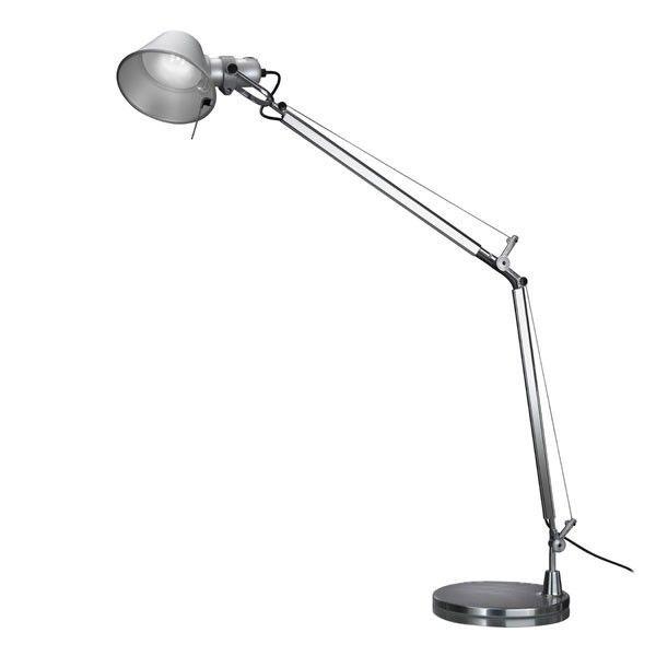 Artemide Tolomeo Midi bureaulamp LED met dimmer aluminium