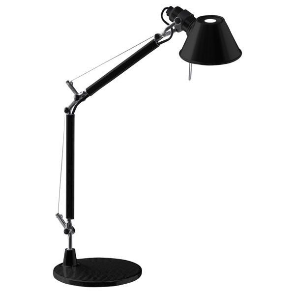 Artemide Tolomeo Mini bureaulamp Halo zwart