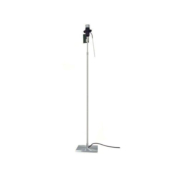 Luceplan Tweedekansje - Costanza vloerlamp onderstel telescopisch met aan-/uitschakelaar aluminium