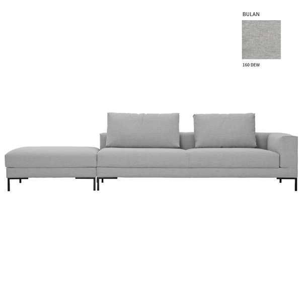 Design on Stock Aikon Lounge bank 3-zits 1-arm + poef
