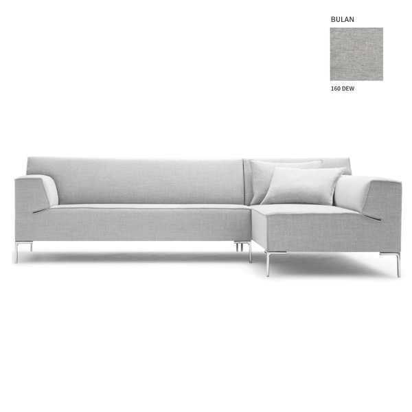 Design Bank Met Chaise Longue.Design On Stock Bloq Bank 3 Zits 1 Arm Chaise Longue Flinders