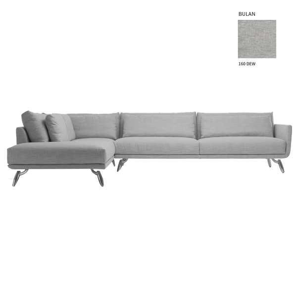 Design on Stock Byen Lounge bank 3-zits 1-arm + dormeuse