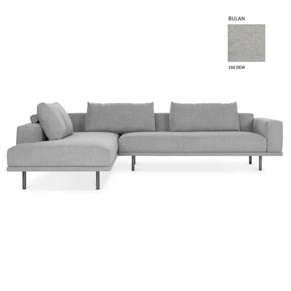 Design on Stock Cascade hoekbank met open chaise longue