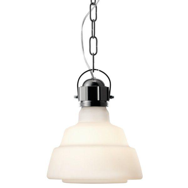 Diesel Glas hanglamp wit
