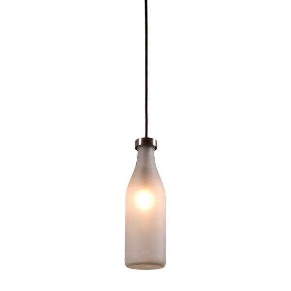 Droog Milk Bottle hanglamp