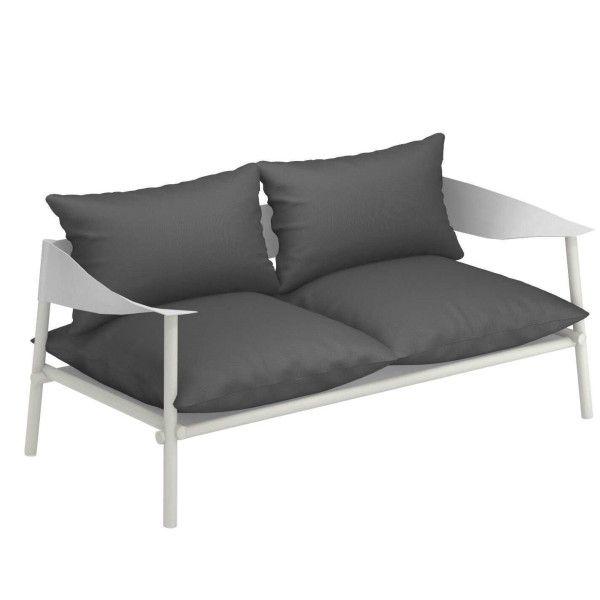Emu Terramare 2-zits loungebank matt white
