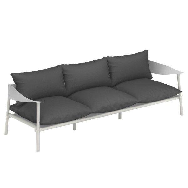 Emu Terramare 3-zits loungebank matt white