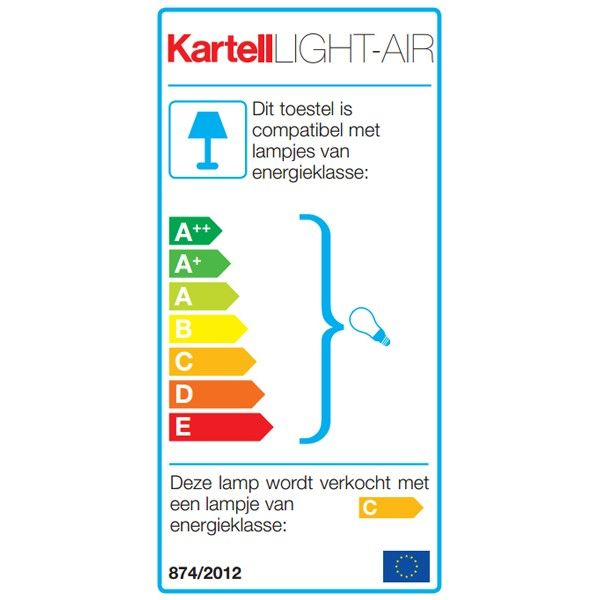 Kartell Light-Air tafellamp