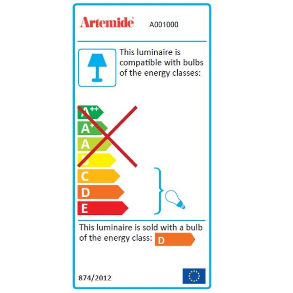 Artemide Tolomeo Terra vloerlamp Halo