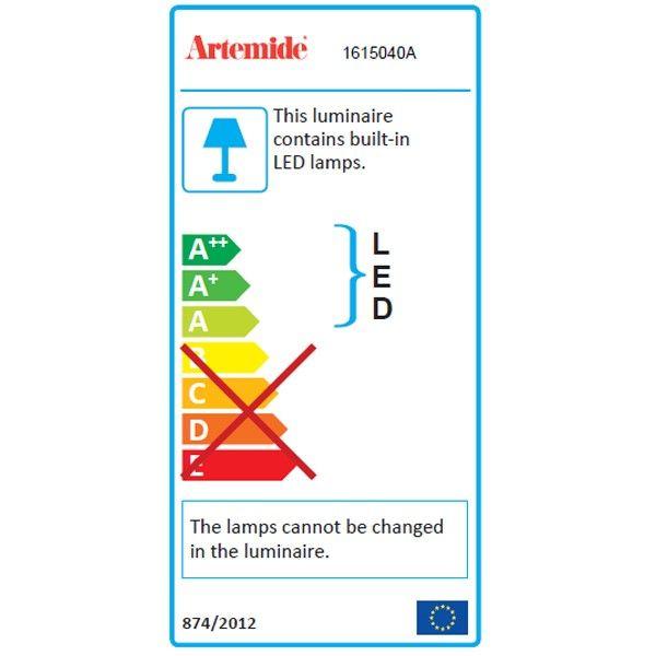 Artemide Rea 17 wandlamp LED