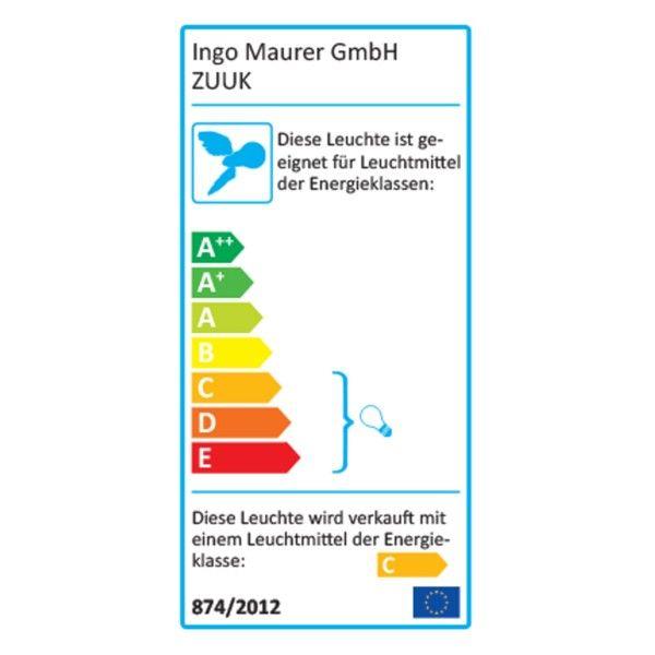 Ingo Maurer Zuuk plafondlamp