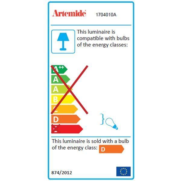 Artemide Meteorite 15 Parete wandlamp