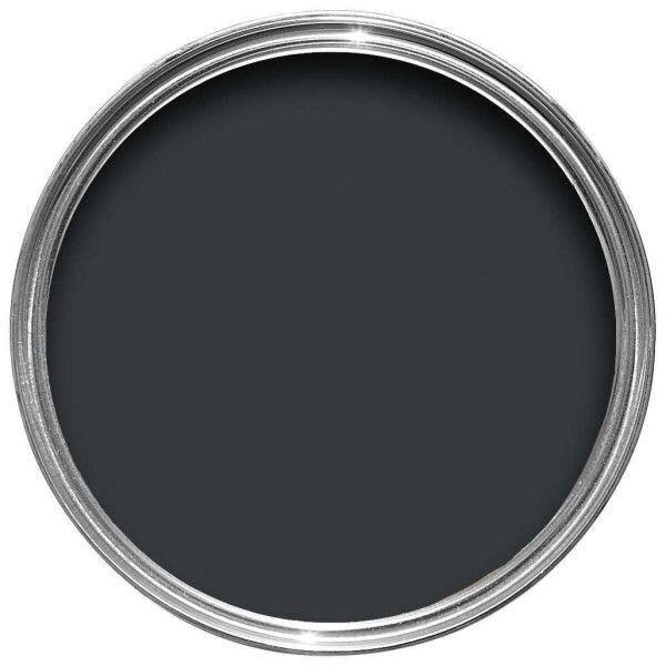 Farrow & Ball Hout- en metaalverf buiten Black Blue (95)