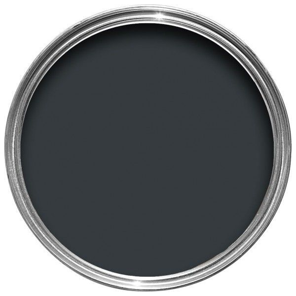 Farrow & Ball Hout- en metaalverf binnen Black Blue (95)