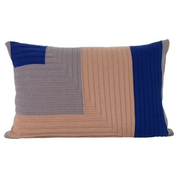 Ferm Living Angle Knit kussen 60x40