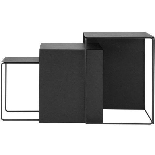 Ferm Living Cluster Tables bijzettafel set van 3