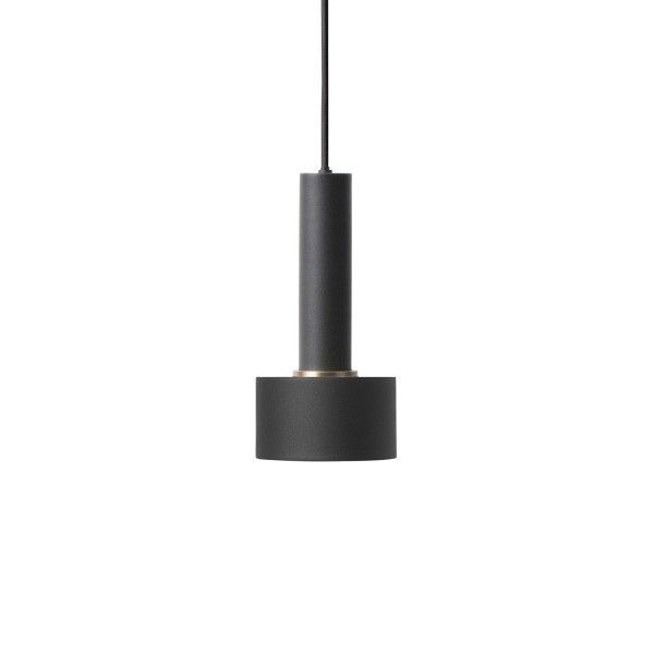 Ferm Living Disc Black hanglamp