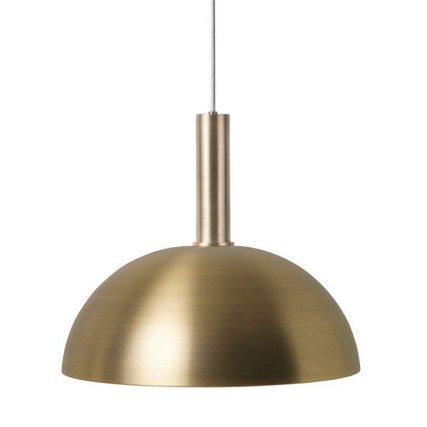 Ferm Living Dome Brass hanglamp