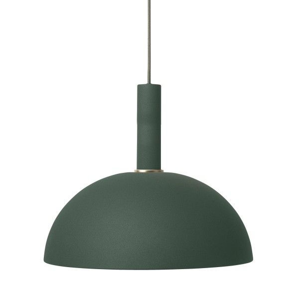 Ferm Living Dome Dark Green hanglamp