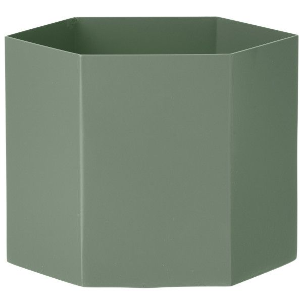 Ferm Living Hexagon Pot plantenbak extra large