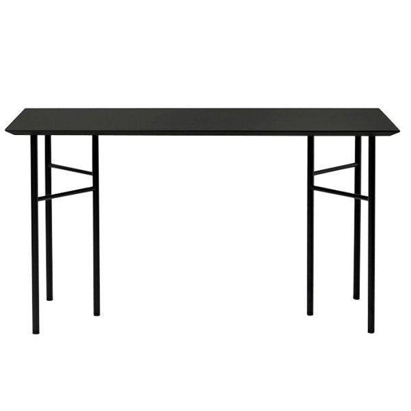 Ferm Living Mingle Desk Charcoal Linoleum bureau 135x65 verstelbaar