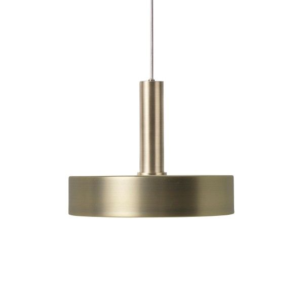 Ferm Living Record Brass hanglamp
