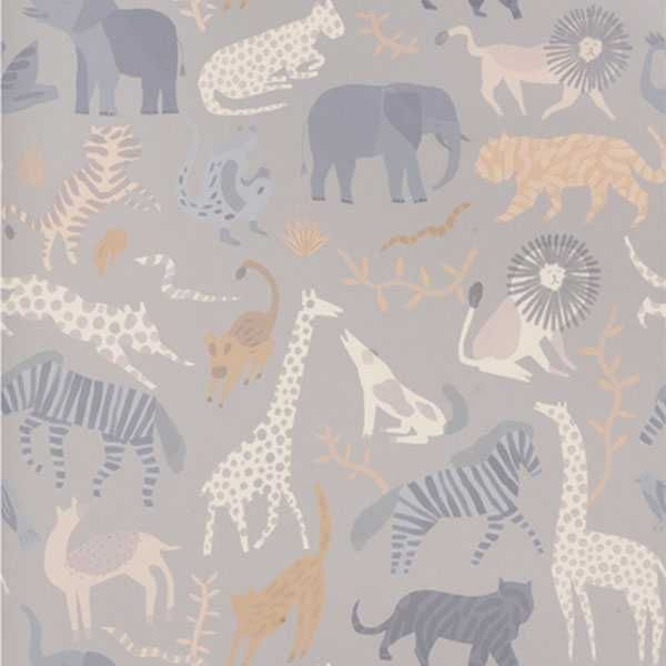 Ferm Living Safari behang