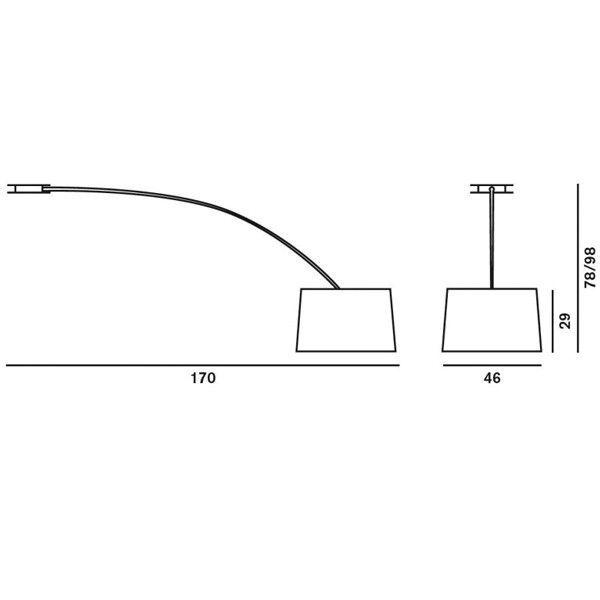 Foscarini Twiggy plafondlamp