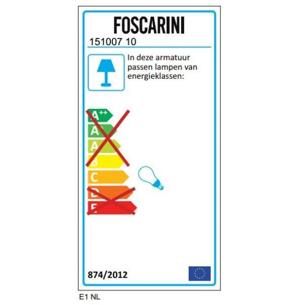 Foscarini Big Bang hanglamp