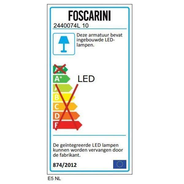 Foscarini Rituals XL hanglamp LED niet dimbaar