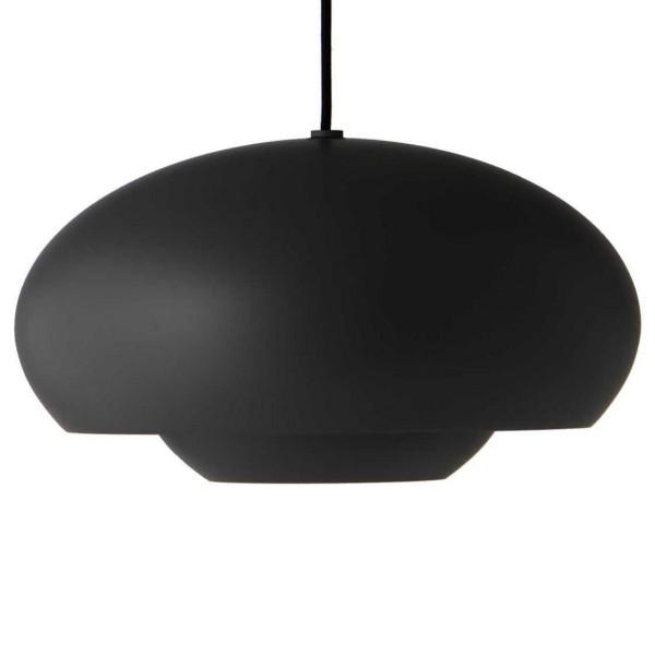 Frandsen Tweedekansje - Champ hanglamp metaal medium mat zwart