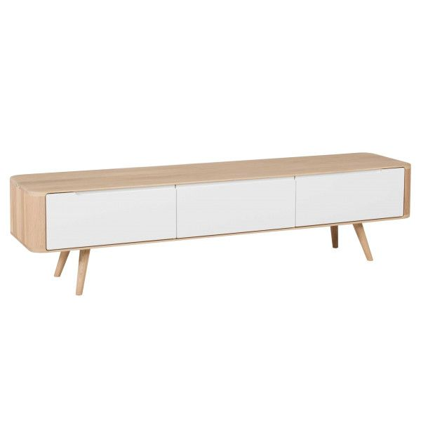 Gazzda Ena tv dressoir 180x42 whitewash