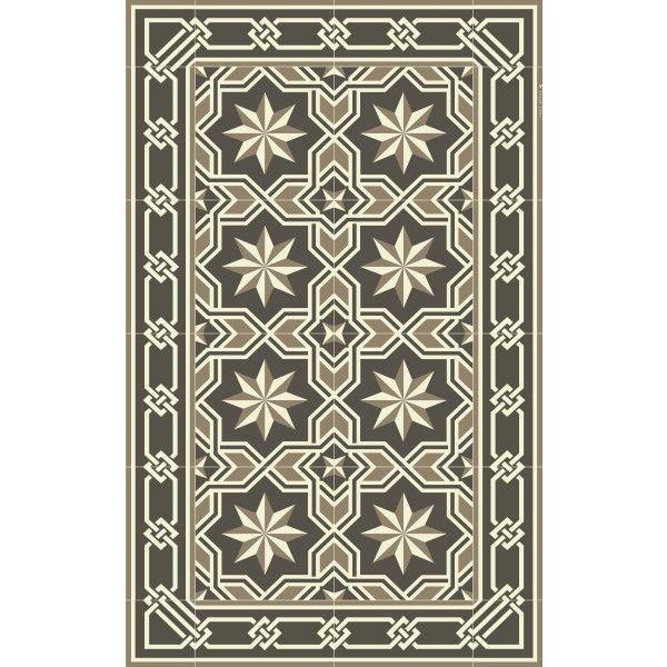 Beija Flor Gothic vinyl vloerkleed 70x120
